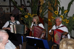 Hans und seine Veersetaler Deerns 1   Musikantentreffen in Schwalingen   20.09.2009