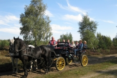Kutschfahrt mit Spielern 9   Schwalingen   19.09.2009